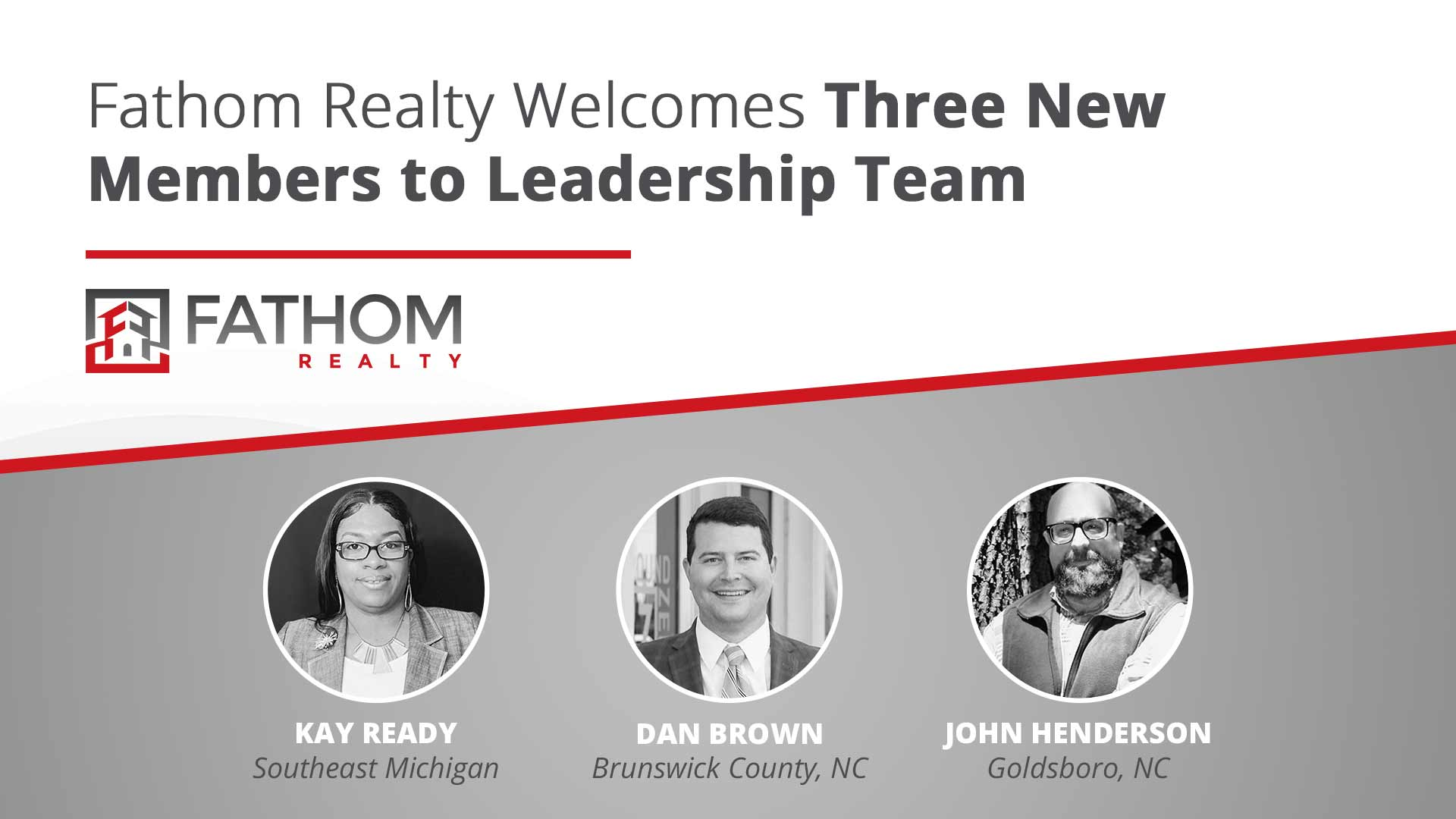 """Featured image for """"Fathom Realty Welcomes Three New Members to Leadership Team"""""""